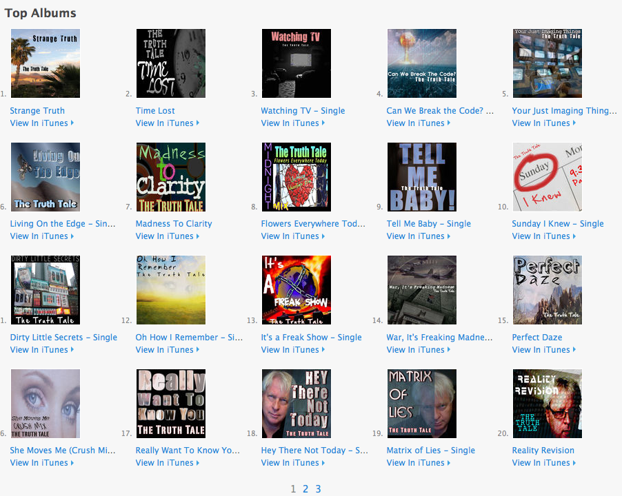 The Truth Tale iTunes